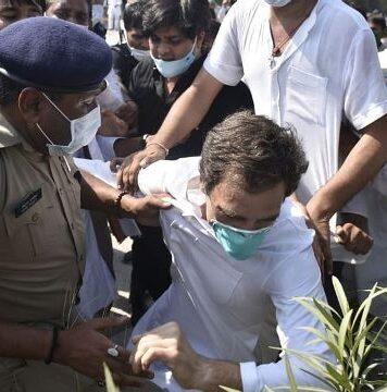 Rahul Gandhi released after arrest