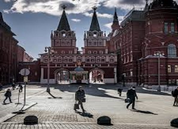 Russia's capital city Moscow,
