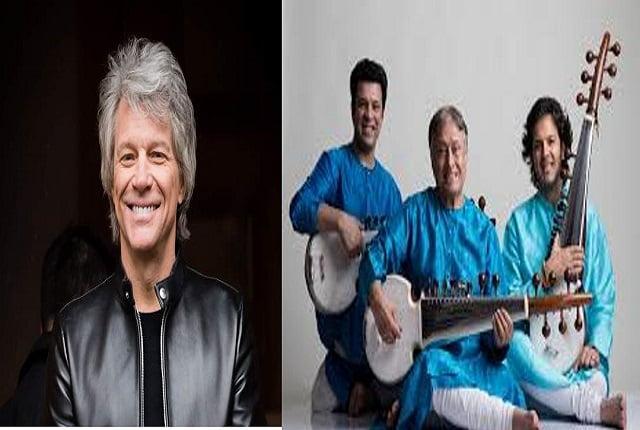 Amjad Ali Khan will perform a concert with John Bon Jovi