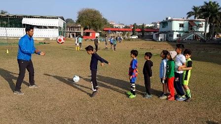 football training club