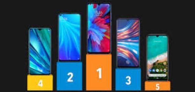 टॉप 5 मोबाइल फ़ोन