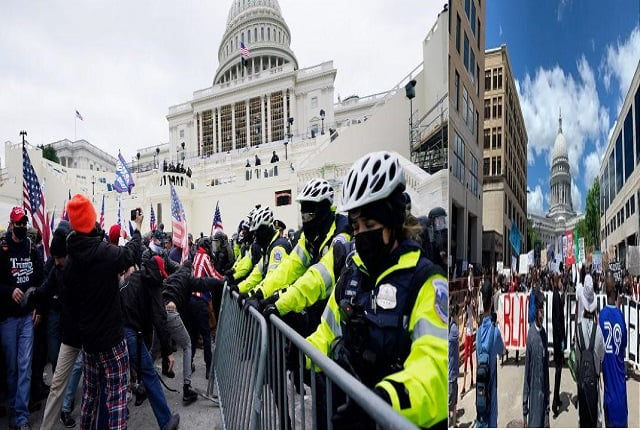 Trump supporters attack White House