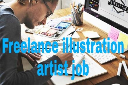 Freelance illustration artist jobs