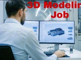 3d modeling artist job