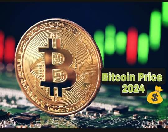Bitcoin price in the year 2024