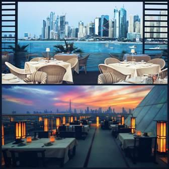 दुबई के सबसे बेहतरीन रेस्टोरेंट जहाँ मिलेगा लाजबाब स्वाद