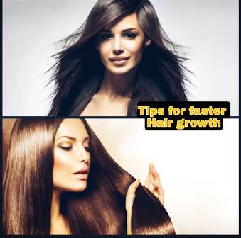 What causes faster hair growth ?