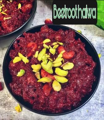 Beetroot halwa recipe in hindi