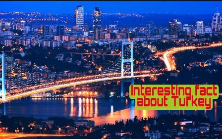 Interesting Facts about Turkey in Hindi