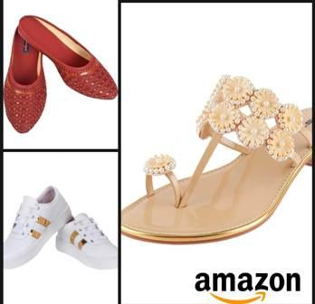 Buy women foot wear starting range from Rs 150