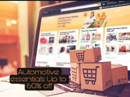 Automotive essentials Up to 60% off on amazon